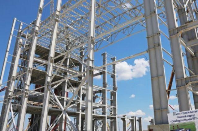 Строительство ТЭС в Крыму для продолжения которого заказывали газовые турбины.