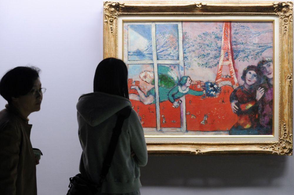 «Влюбленные и Эйфелева башня», 1928 год.