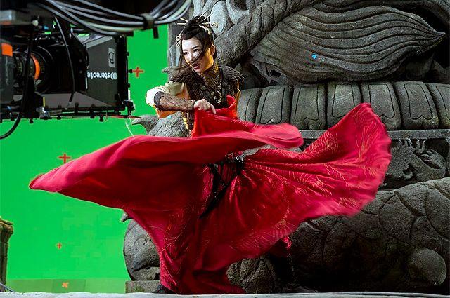 Кадр из фильма «Тайна Печати дракона: Путешествие в Китай».