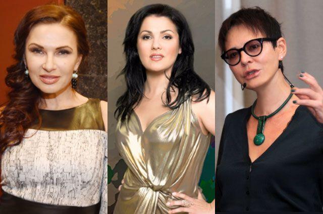 Эвелина Блёданс, Анна Нетребко и Ирина Хакамада.