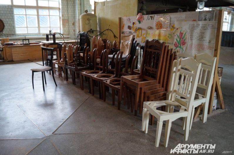Мебельная фабрика.