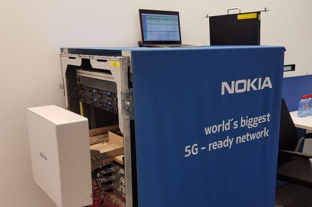 На демонстрации компании представили различные варианты использования технологии пятого поколения.