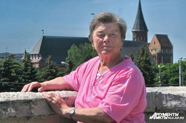 Муза Крутик живет в Калининграде с 1947 года.