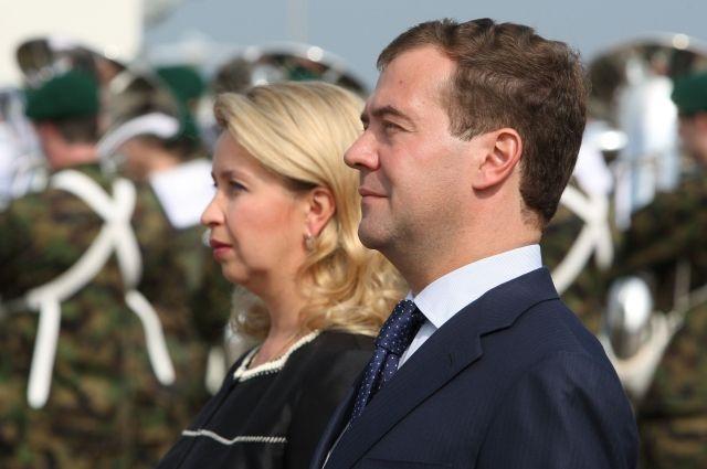 Супруга Дмитрия Медведева поведала оподготовке ксеребряной свадьбе