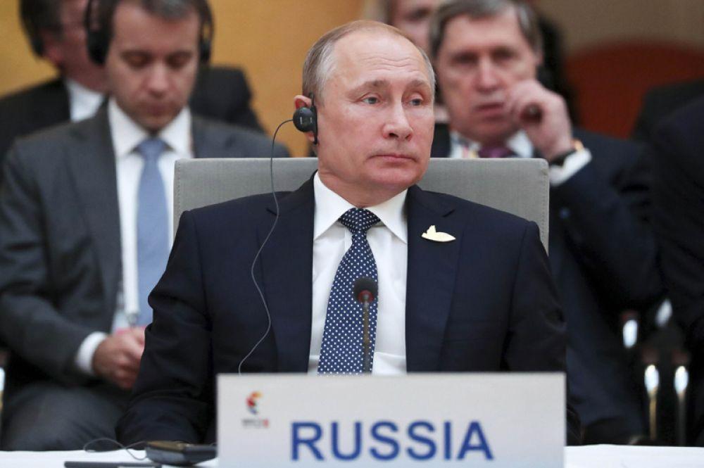 Президент России Владимир Путин принял участие во встрече лидеров БРИКС.