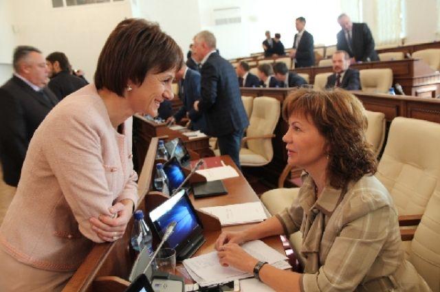 Татьяна Ильюченко (слева) заняла третью строчку.