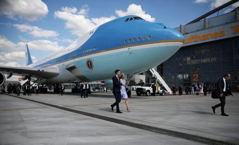 Иванка Трамп и её супруг Джаред Кушнер прибыли на саммит лидеров G20 в Гамбурге.