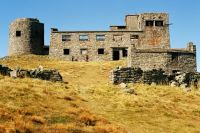 Заброшенная обсерватория на горе Поп-Иван