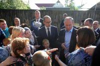 27 июня Путин посетил аварийный дом.