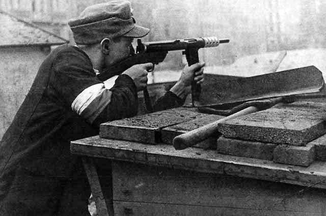 Польский повстанец.