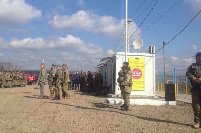 КПП в Луганской области