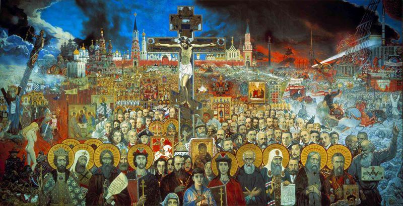 Вечная Россия. 1988 год.
