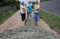 В прошлом году некоторым садовым товариществам компенсировали до 300 тысяч рублей, в том числе и на отсыпку дорог.