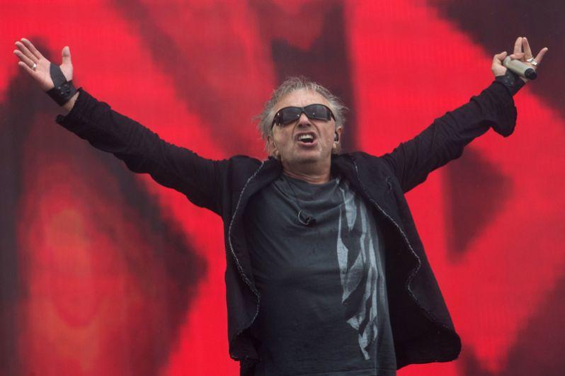 Лидер группы «Алиса» Константин Кинчев выступает на музыкальном фестивале «Нашествие 2017» в поселке Большое Завидово в Тверской области.