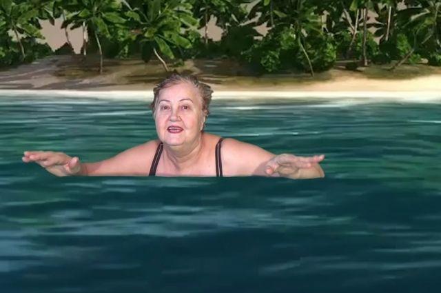 Это, пожалуй, самый известный кадр из видео Татьяны Субботиной.