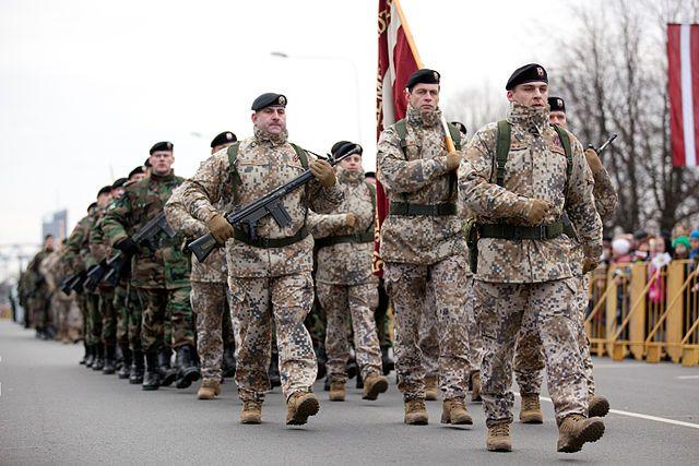 Латвия небудет вводить обязательный призыв из-за отсутствия ресурсов