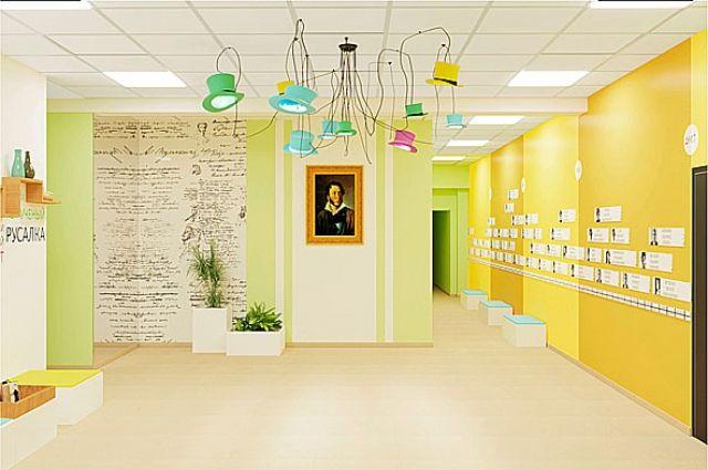 Святая святых - портрет Пушкина - обязательно сохранится при входе.
