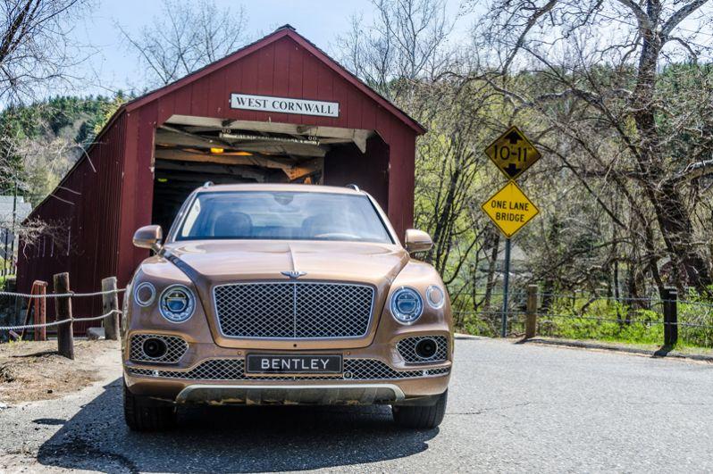 10 место: Bentley Bentayga