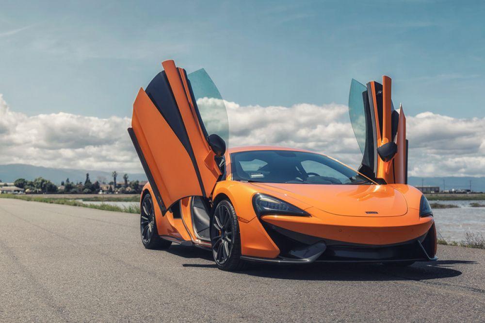 2 место: McLaren 570S