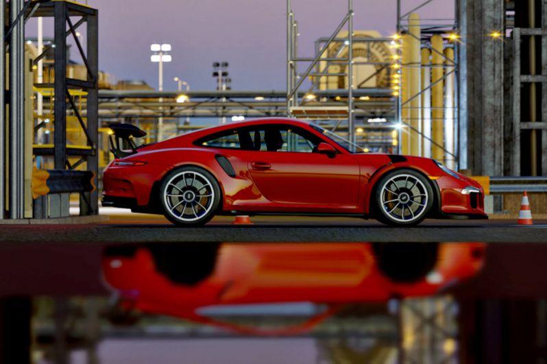 1 место: Porsche 911 GTS