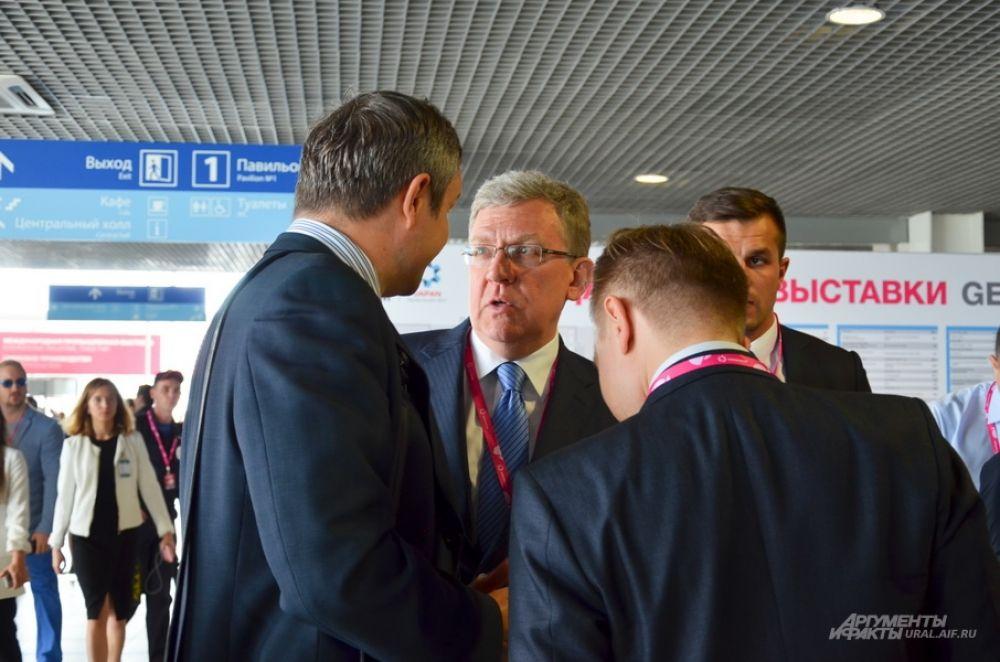 Председатель совета Центра стратегических разработок и экс-министр РФ Алексей Кудрин.