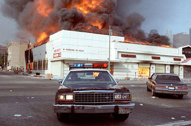 Беспорядки в Лос-Анджелесе, 1992 г.