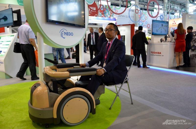 Роботизированная инвалидная коляска.