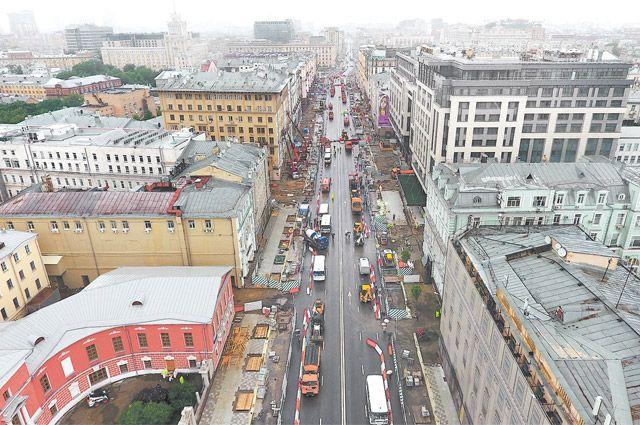 В столице ввыходные дни перекроют несколько центральных улиц
