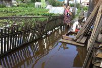 От паводка в Кукуштане пострадали 42 дома.