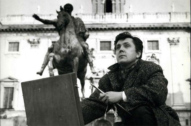 Илья Глазунов, 1962 год.