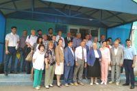Выездное заседание Общественного совета при Законодательном Собрании Иркутской области в Усольском районе.