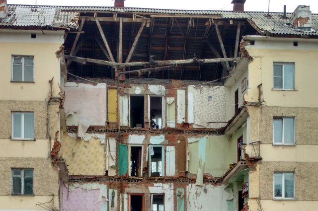 Уголовное дело об обрушении дома в Междуреченске передано в суд.
