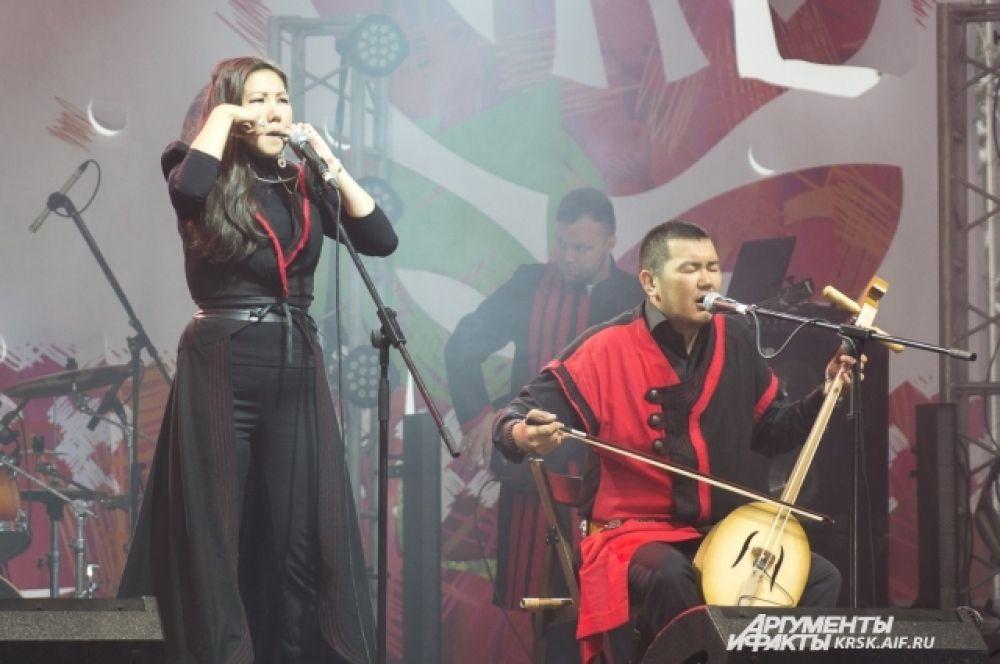 Группе «Иренек Хан» удалось синтезировать рок с алтайским фольклором.
