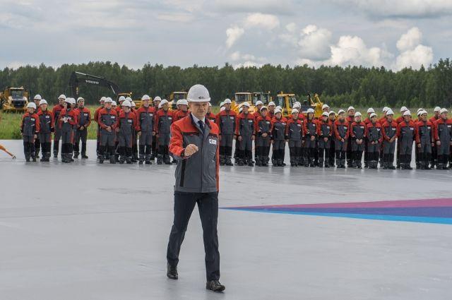Со вчерашнего дня новый масштабный  проект Русской медной компании  в Челябинской области стал фактом реальности.