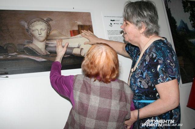 Тактильные картины будут гастролировать на Среднем Урале до 2 августа. Вход на выставку бесплатный.