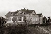 Дом Рутгерса, находящийся на правом берегу Томи в Кемерове.