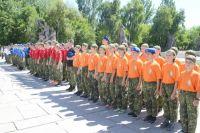 Для мальчишек и девчонок России стать курсантом смены «Вектор мужества» - большая заслуга.