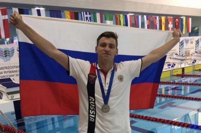 Орчанин привез домой «серебро» Чемпионата Европы по подводному плаванью.