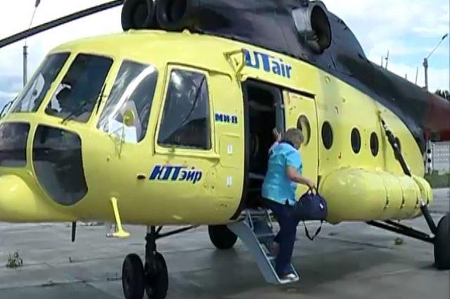 Санитарная авиация доставит тяжелобольных в лечебные учреждения.