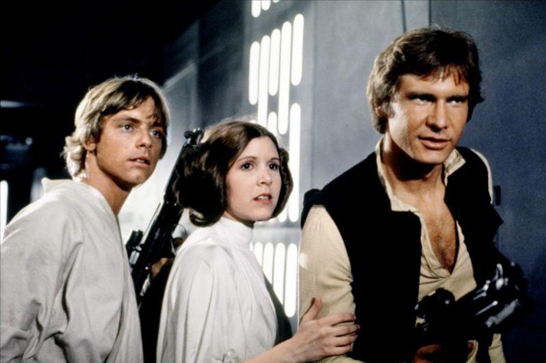 «Звёздные войны: Эпизод 4 – Новая надежда» (1977) — Хан Соло.