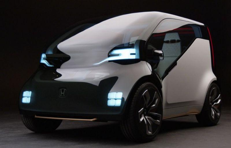 Honda NeuV. Миникар, оснащенн искусственным интеллектом, который может распознавать эмоции водителя и на их основании предлагать ему помощь
