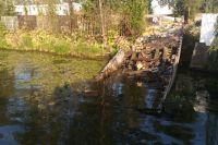 В водоеме Калининграда обнаружен разлив нефтепродуктов.