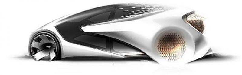Toyota Concept-i.  Модель оснастят системой AI (искусственный интеллект), которая и станет главным достоинством этого концепт-кара. Умная система сможет заменить водителя.