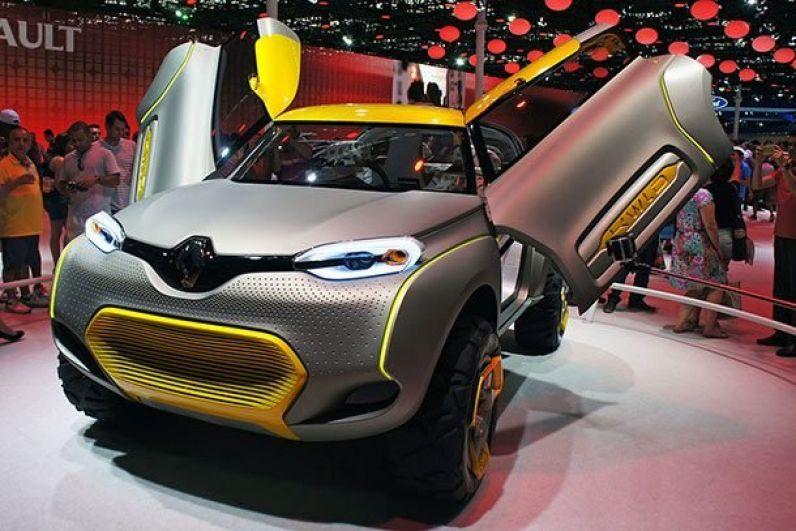 Renault KWID. Два самых невероятных качества нового Renault – его уникальный дизайн и наличие дрона.