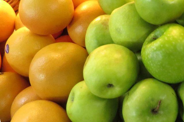 Ликвидировали 4 тонны яблок и 48 килограммов груш из Польши.