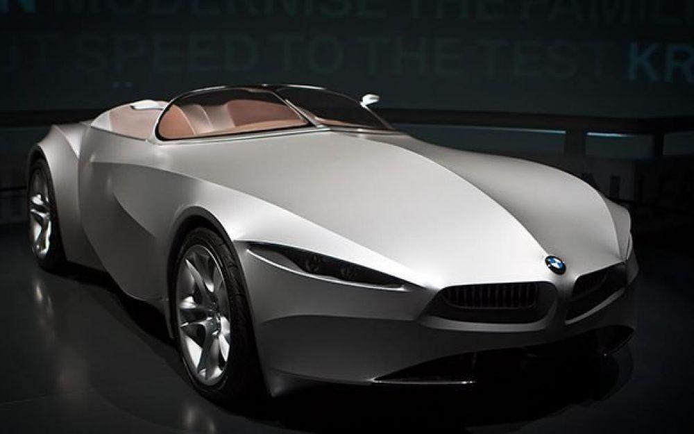 BMW GINA. Внешняя часть концепт-кара вместо стали или алюминия покрыта специальным материалом, позволяющим постоянно проводить эксперименты над ее видом