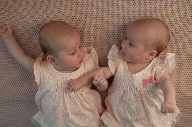 В июне родилось 19 пар близнецов. Это на три больше, чем в тот же период прошлого года.