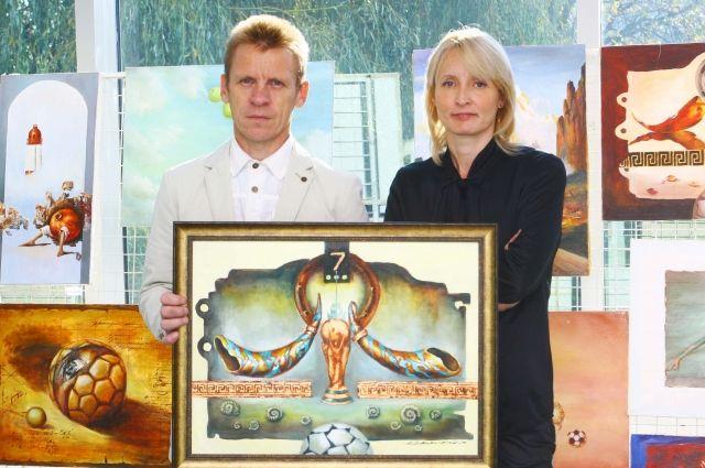 Владимир и Виктория Кириленко сначала расписывали храмы, а затем перешли в живопись.