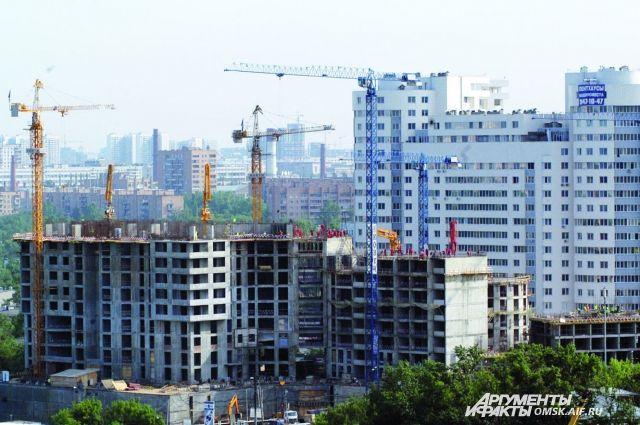 В Омске пока что снижен спрос на покупку жилья.