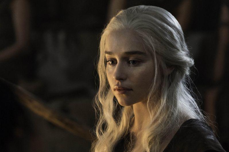 Дейенерис Таргариен. Возглавляет рейтинг очевидных претендентов на Железный трон Дейенерис Таргариен — последняя представительница рода Таргариенов. По мнению букмекеров, Мать Драконов будет править Семью Королевствами уже к концу седьмого сезона.